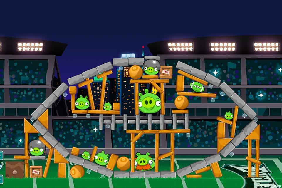 Angry Birds Philadelphia Eagles Level 16 Vs New York