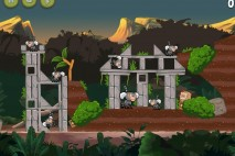 Angry Birds Rio Jungle Escape Eagle Bonus Walkthrough Level 2