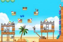 Angry Birds Rio Beach Volley Eagle Bonus Walkthrough Level 3