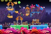 Angry Birds Rio Carnival Upheaval Eagle Bonus Walkthrough Level 4