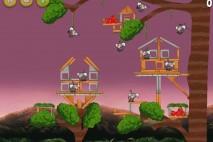 Angry Birds Rio Airfield Chase Eagle Bonus Walkthrough Level 5
