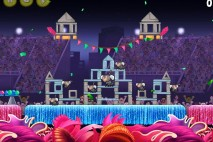 Angry Birds Rio Carnival Upheaval Star Bonus Walkthrough Level 10