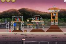 Angry Birds Rio Airfield Chase Star Bonus Walkthrough Level 13