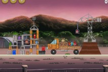 Angry Birds Rio Airfield Chase Star Bonus Walkthrough Level 14