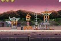 Angry Birds Rio Airfield Chase Star Bonus Walkthrough Level 15