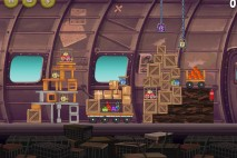 Angry Birds Rio Smugglers Plane Star Bonus Walkthrough Level 16