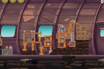 Angry Birds Rio Smugglers Plane Star Bonus Walkthrough Level 18