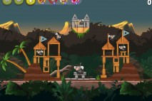 Angry Birds Rio Jungle Escape Star Bonus Walkthrough Level 4