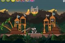 Angry Birds Rio Jungle Escape Star Bonus Walkthrough Level 4