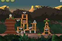 Angry Birds Rio Jungle Escape Star Bonus Walkthrough Level 5