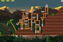 Angry Birds Rio Jungle Escape Star Bonus Walkthrough Level 6