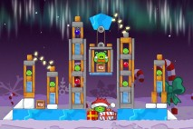 Angry Birds Seasons Winter Wonderham Level 1-11 Walkthrough