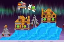 Angry Birds Seasons Winter Wonderham Level 1-12 Walkthrough