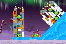 Angry Birds Seasons Winter Wonderham Level 1-13 Walkthrough