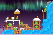 Angry Birds Seasons Winter Wonderham Level 1-14 Walkthrough