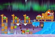 Angry Birds Seasons Winter Wonderham Level 1-15 Walkthrough