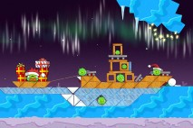 Angry Birds Seasons Winter Wonderham Level 1-16 Walkthrough