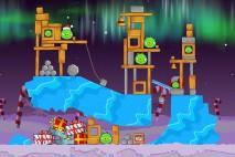 Angry Birds Seasons Winter Wonderham Level 1-19 Walkthrough