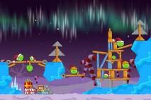 Angry Birds Seasons Winter Wonderham Level 1-2 Walkthrough