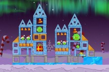 Angry Birds Seasons Winter Wonderham Level 1-20 Walkthrough