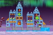 Angry Birds Seasons Winter Wonderham Level 1-20 Walkthrough