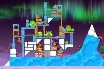 Angry Birds Seasons Winter Wonderham Level 1-22 Walkthrough