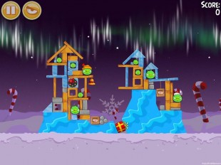 Angry Birds Seasons Winter Wonderham Level 1-23 Walkthrough