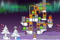 Angry Birds Seasons Winter Wonderham Level 1-24 Walkthrough