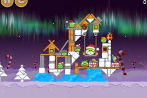 Angry Birds Seasons Winter Wonderham Level 1-25 Walkthrough