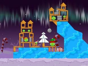 Angry Birds Seasons Winter Wonderham Level 1-3 Walkthrough