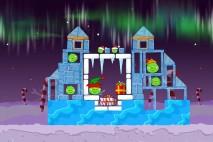 Angry Birds Seasons Winter Wonderham Level 1-5 Walkthrough