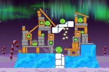 Angry Birds Seasons Winter Wonderham Level 1-6 Walkthrough