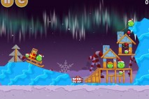 Angry Birds Seasons Winter Wonderham Level 1-7 Walkthrough