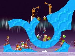 Angry Birds Seasons Winter Wonderham Golden Egg #41 Walkthrough