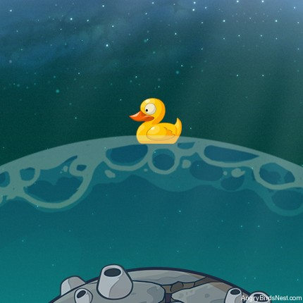 Angry Birds Space Pig Bang Rubber Duck