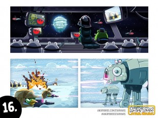 Angry Birds Star Wars Comic Part 16
