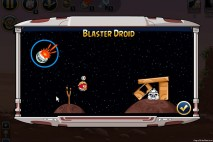 Angry Birds Star Wars Facebok Blaster Droid Power Up Instruction Screen