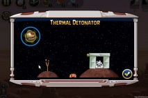 Angry Birds Star Wars Facebok Thermal Detonator Power Up Instruction Screen
