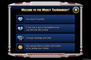 Angry Birds Star Wars Facebok Weekly Tournament Instruction Screen