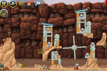 Angry Birds Star Wars Facebook Tournament Level 2 Week 2 – December 24th 2012