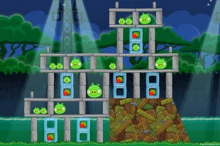 Angry Birds Friends Tournament Level 4 – Week 34 – January 7th 2013