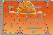 Angry Birds Space Golden Eggsteroid #9 (E-9) Walkthrough