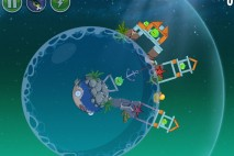 Angry Birds Space Pig Dipper Level 6-16 Walkthrough