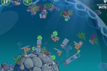 Angry Birds Space Pig Dipper Level 6-19 Walkthrough