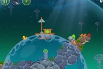 Angry Birds Space Pig Dipper Level 6-2 Walkthrough