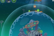 Angry Birds Space Pig Dipper Level 6-21 Walkthrough