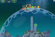 Angry Birds Space Pig Dipper Level 6-4 Walkthrough