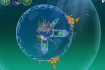 Angry Birds Space Pig Dipper Level 6-5 Walkthrough