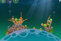 Angry Birds Space Pig Dipper Level 6-6 Walkthrough