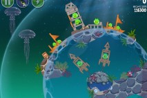 Angry Birds Space Pig Dipper Level 6-7 Walkthrough